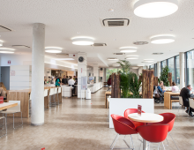 NEUBAU KANTINE BETTY BARCLAY NUSSLOCH
